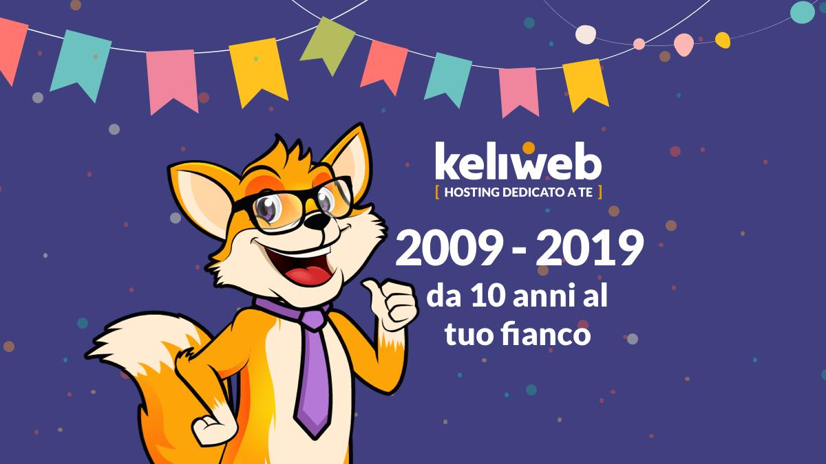 keliweb compie 10 anni