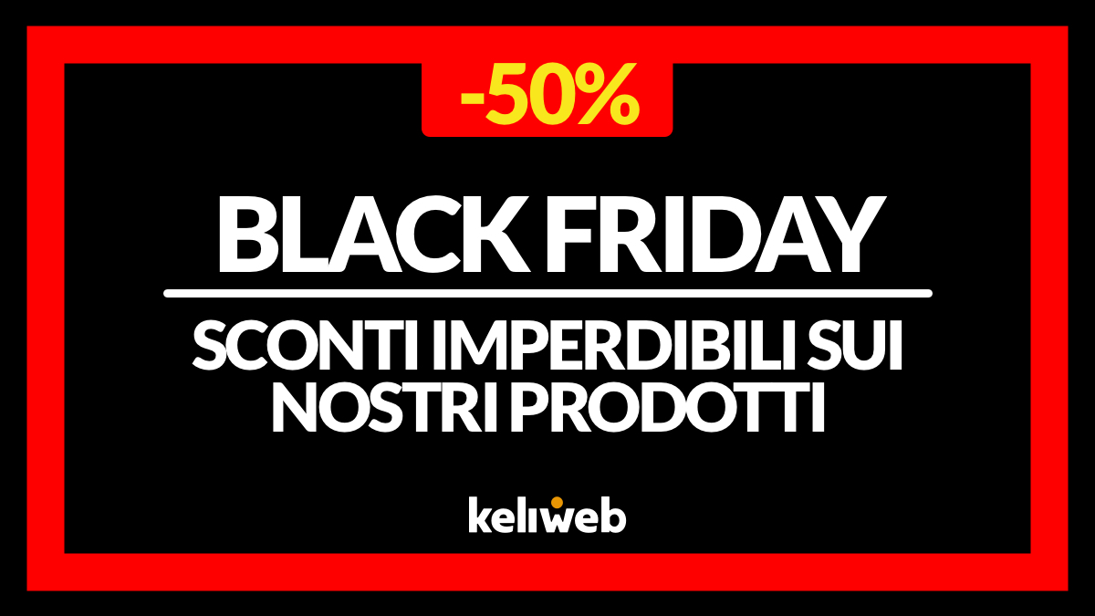 black friday 2019 keliweb