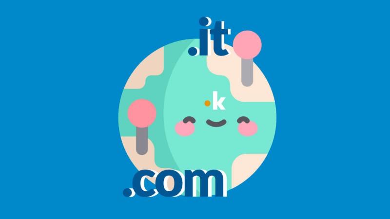 dominio .com o .it