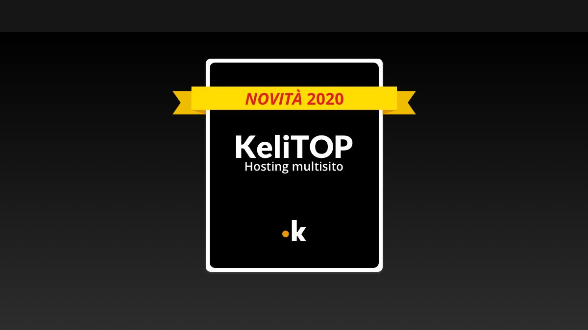 kelitop hosting professionale keliweb
