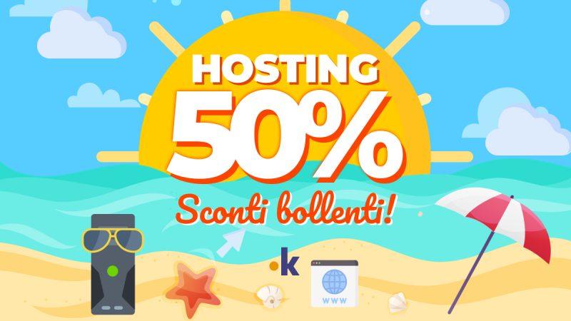 sconti sui servizi web hosting