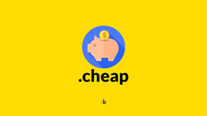 dominio .cheap