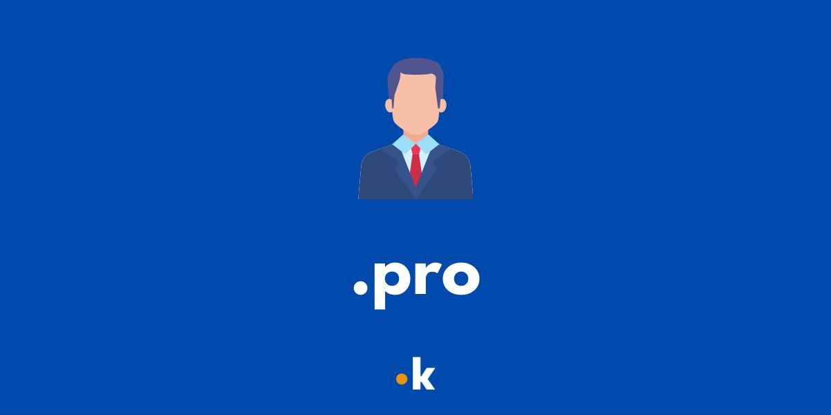 dominio .pro