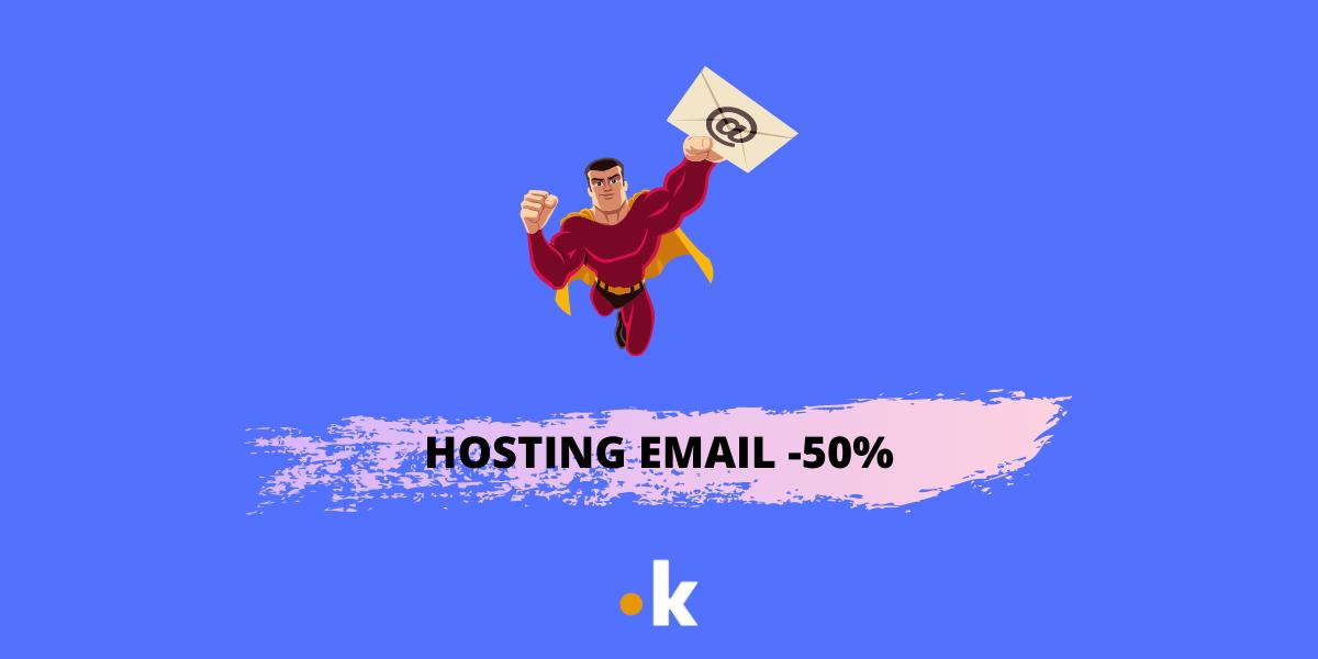 offerta hosting email