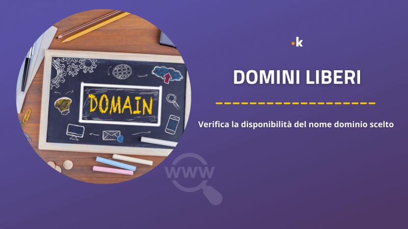 domini liberi verifica disponibilità nome dominio