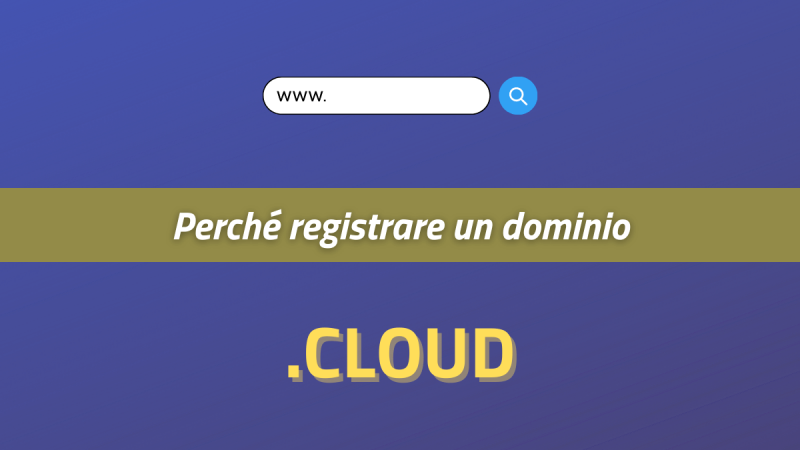 perché registrare un dominio cloud