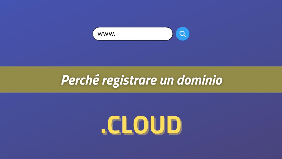 perché registrare un dominio cloud