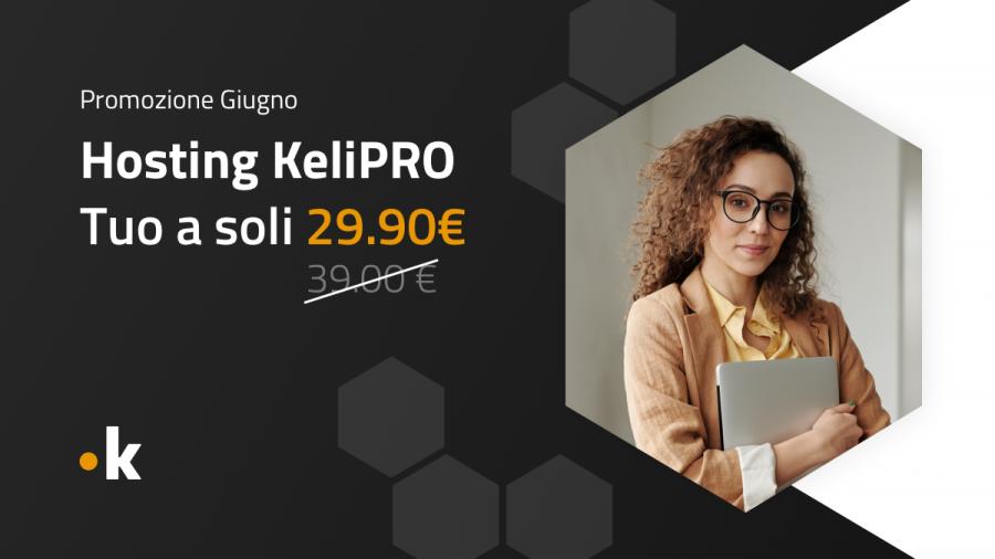 offerta hosting keliweb