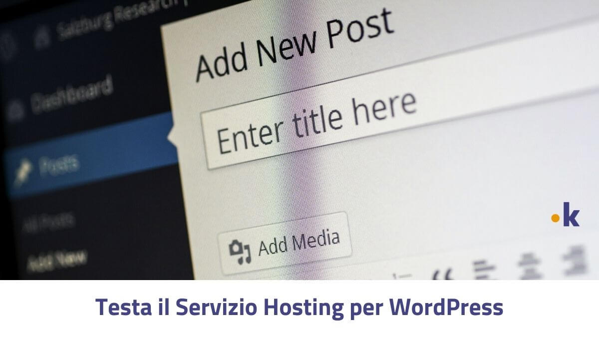 hosting wordpress prova gratis