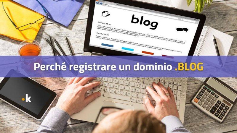 perché registrare un dominio .blog
