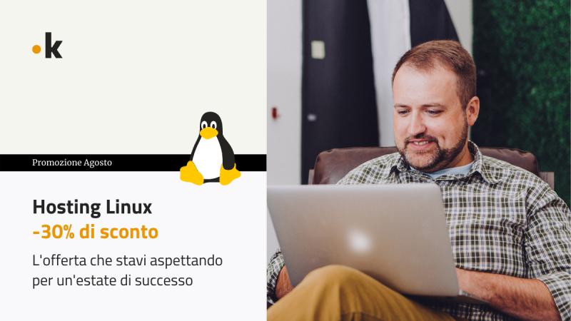 offerta hosting linux