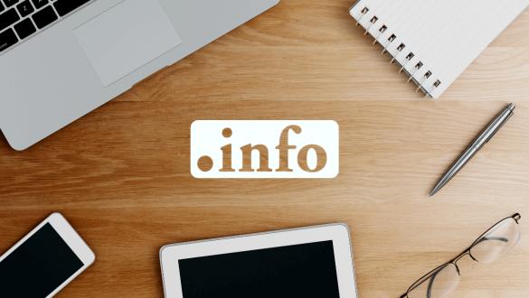 dominio .info per magazine online