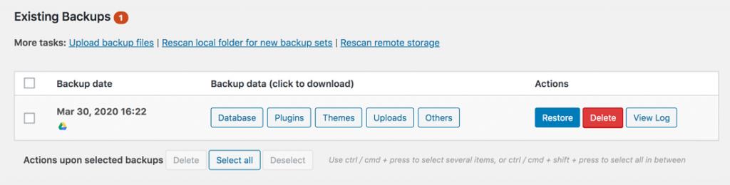 ripristinare-backup-sito-wordpress